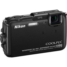 Фотоаппарат Nikon AW110 Coolpix Black*